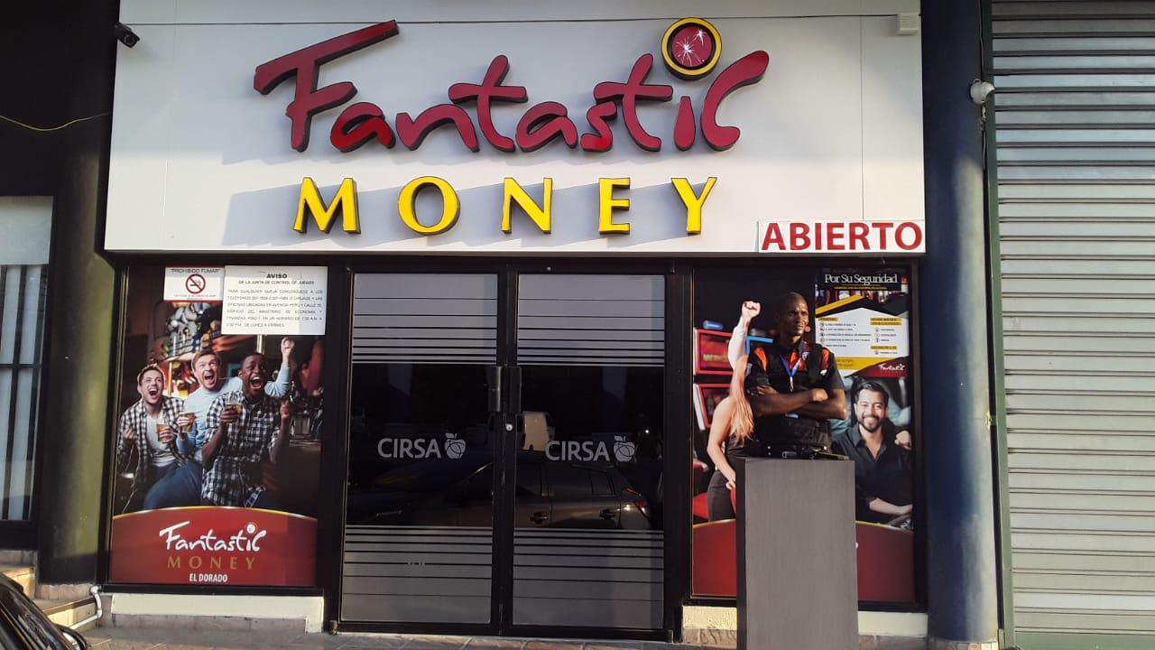 Fachada Money El Dorado
